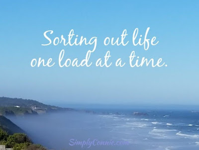 Sort out life one load at a time.