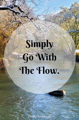 Simply Go With The Flow - SimplyConnie.com