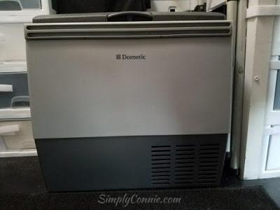 My Van Kitchen Portable Dometic Refrigerator