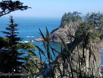 scenic overlook hwy 101 arch rock oregon coast