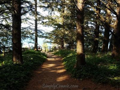 arch rock oregon scenic trail