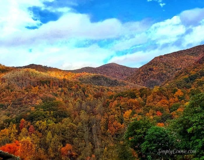 Most photographed view in Maggie Valley NC