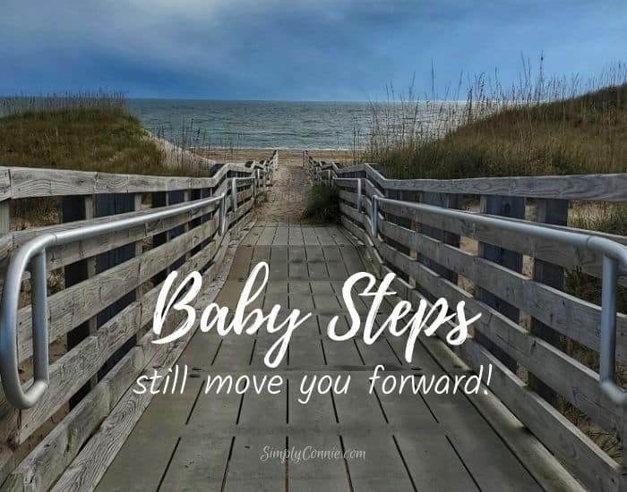Baby steps still move you forward