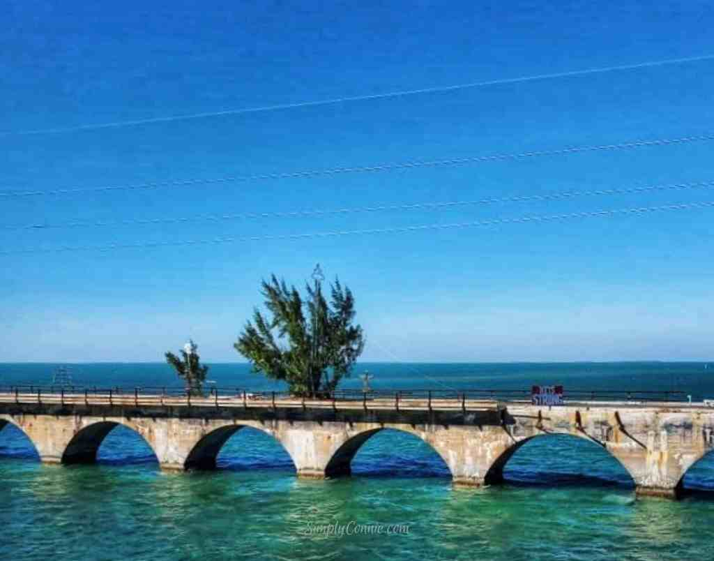 Old 7 Mile Bridge - Fred and Barney - Florida Keys
