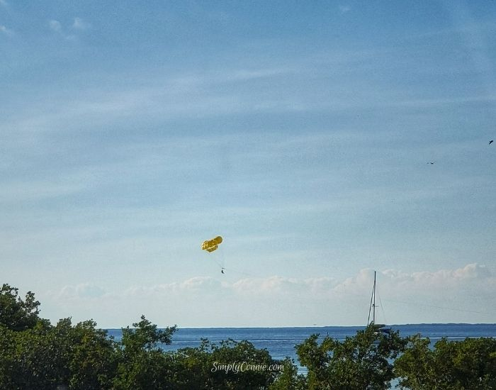 Parasailing at Rowell's Waterfront Park, Overseas Hwy, Key Largo, FL